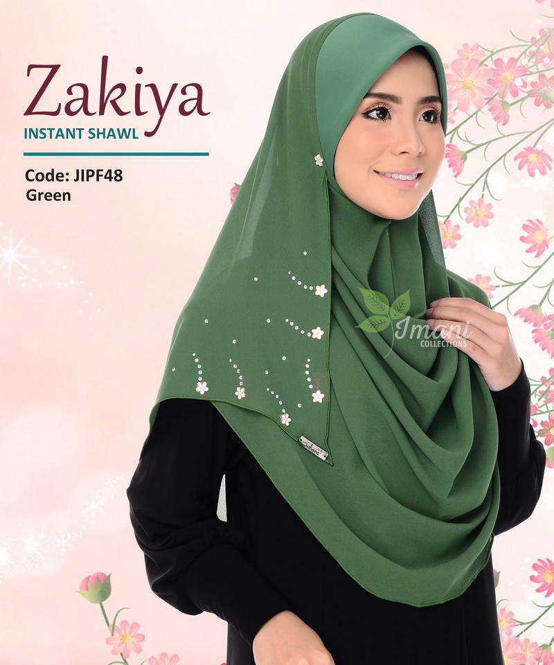 JIPF48R - Shawl Instant Zakiya (REJECT)