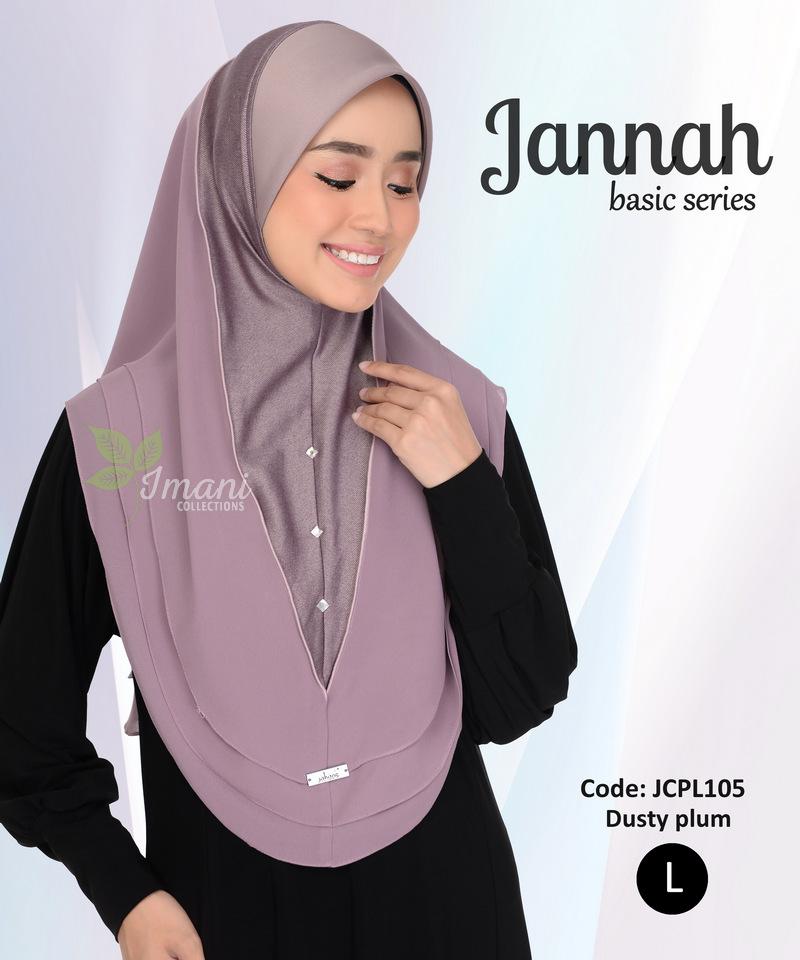 JCPL105R - Tudung Jannah Plain L (REJECT)