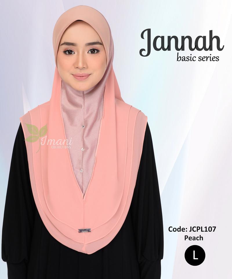 JCPL107R - Tudung Jannah Plain L (REJECT)