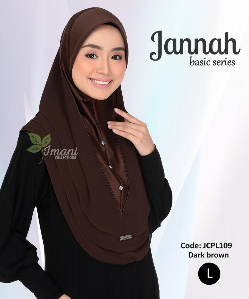 JCPL109 - Tudung Jannah Plain L