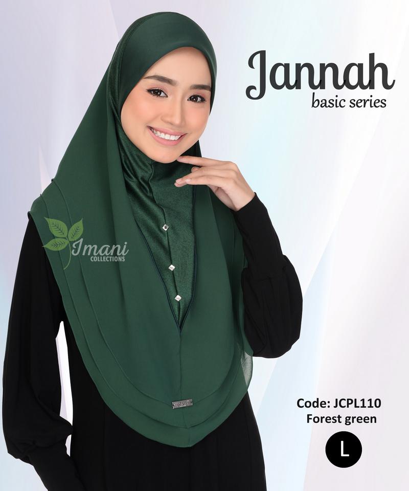 JCPL110 - Tudung Jannah Plain L