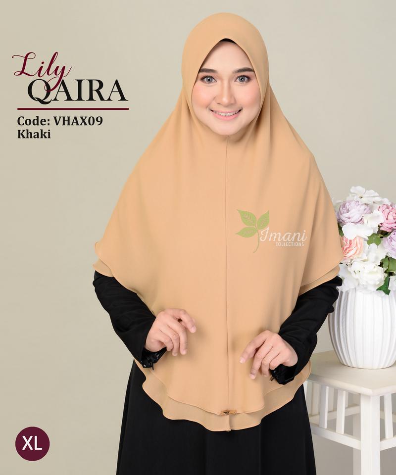 VHAX09 - Tudung Lily Qaira XL