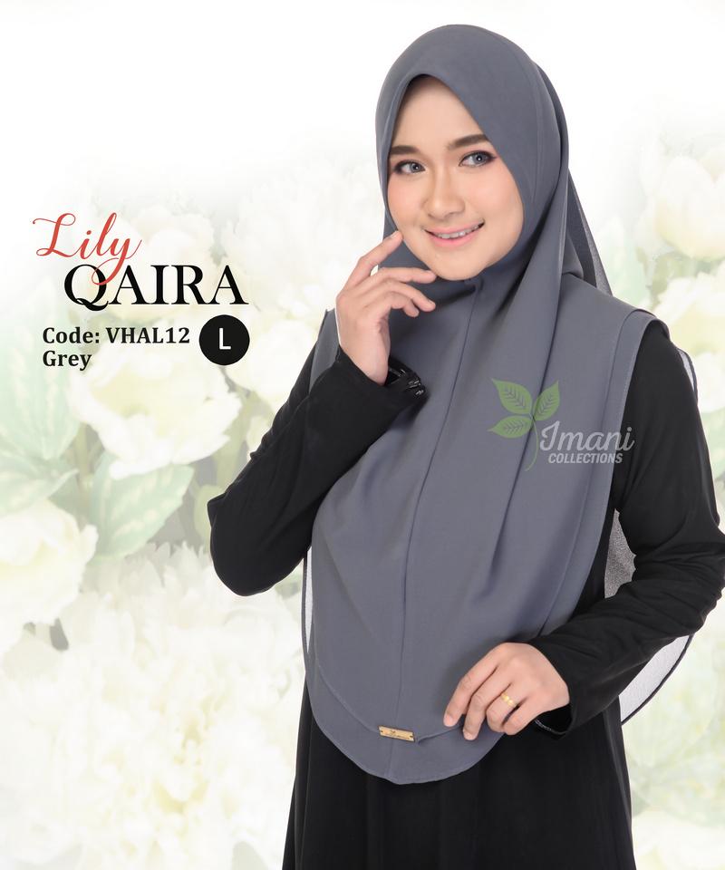 VHAL12 - Tudung Lily Qaira L