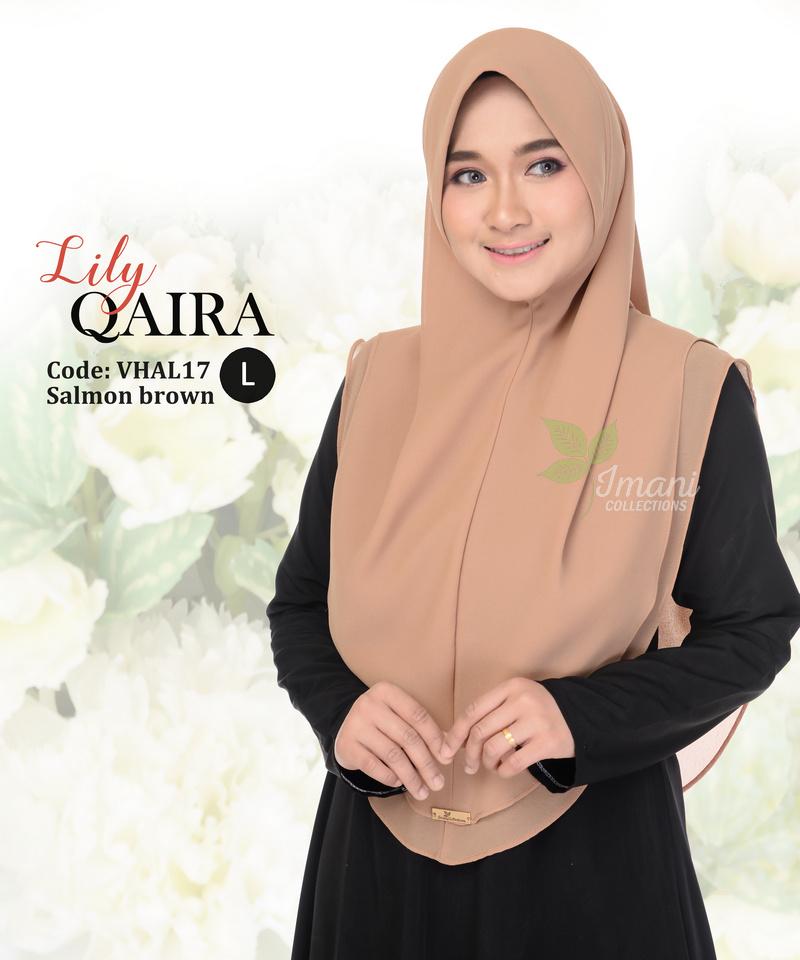 VHAL17 - Tudung Lily Qaira L