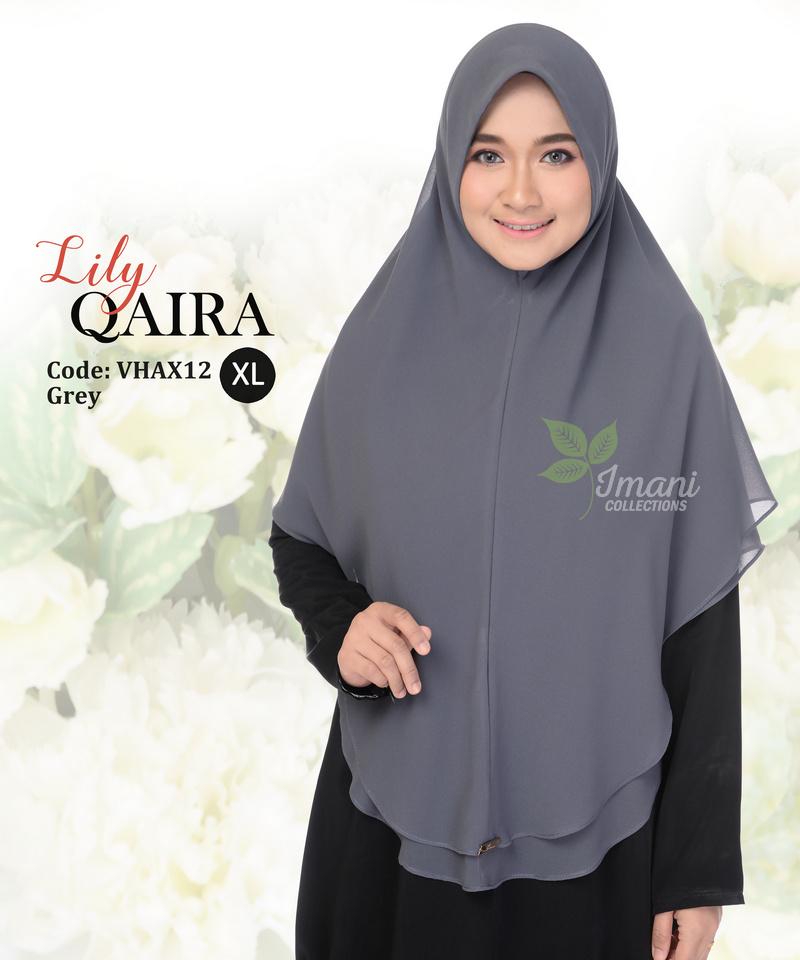 VHAX12 - Tudung Lily Qaira XL