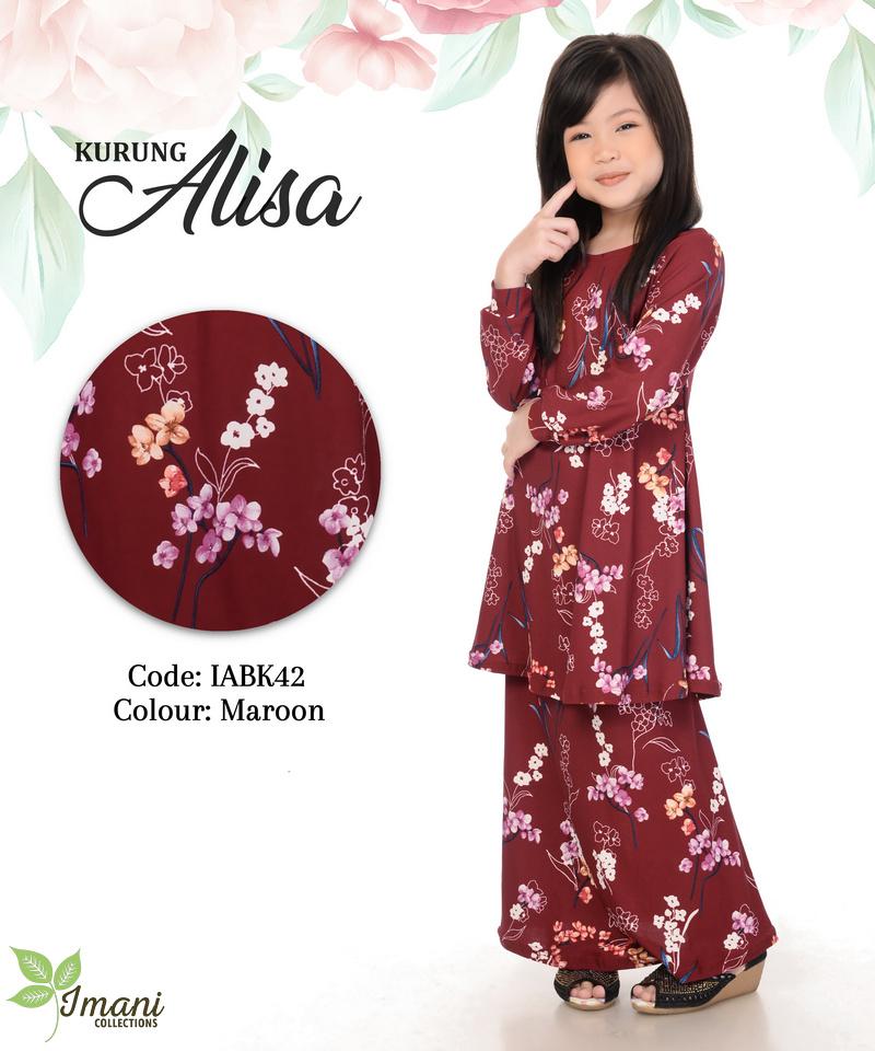 IABK42 - Kurung Alisa Kids
