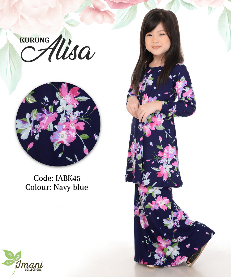 IABK45 - Kurung Alisa Kids