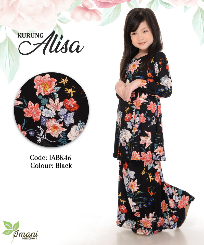 IABK46 - Kurung Alisa Kids