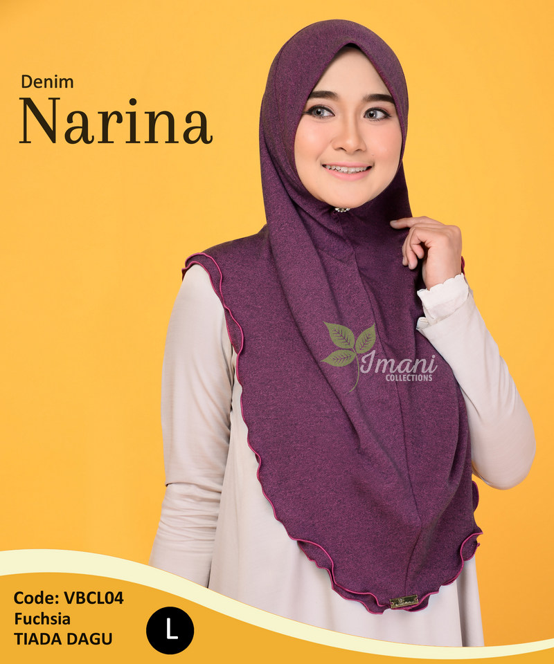 VBCL04 - Tudung Denim Narina L