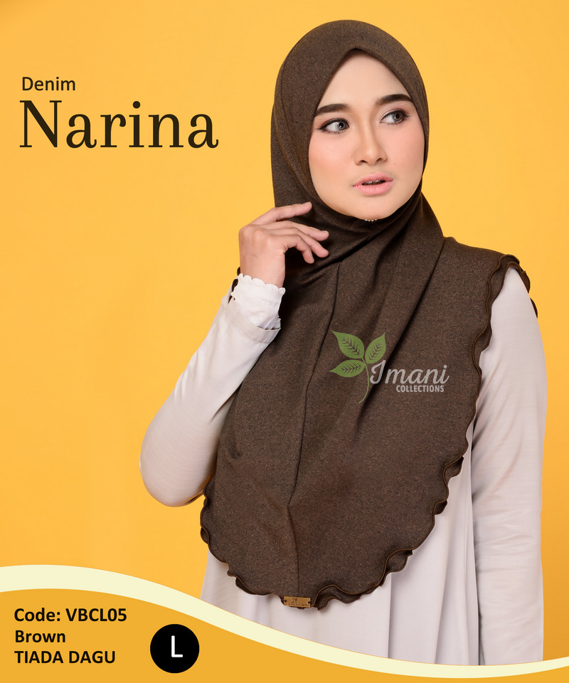 VBCL05 - Tudung Denim Narina L