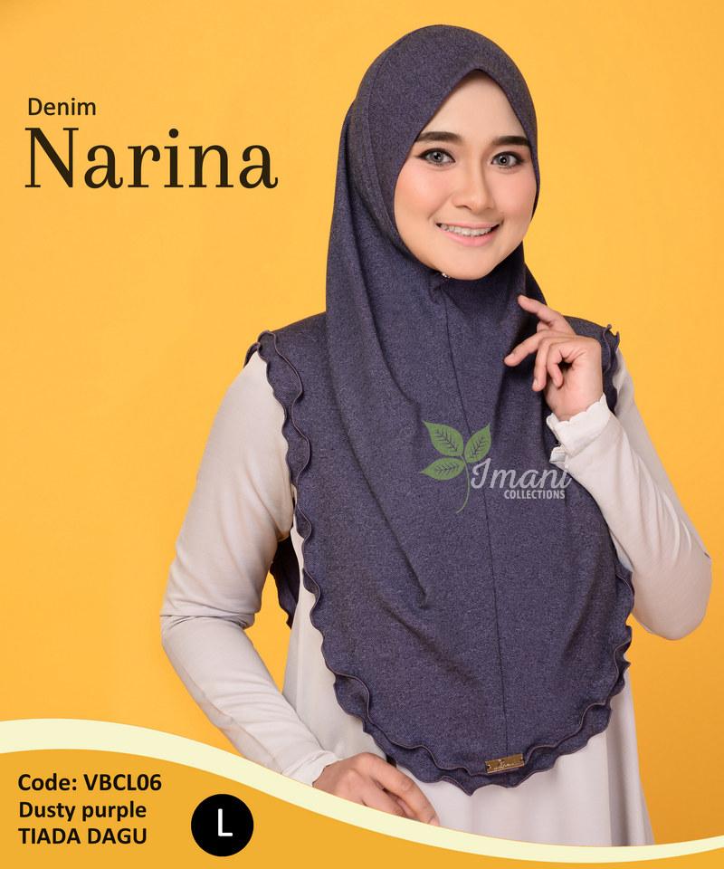 VBCL06 - Tudung Denim Narina L