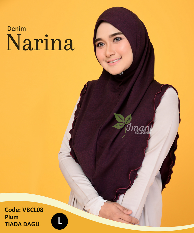 VBCL08 - Tudung Denim Narina L
