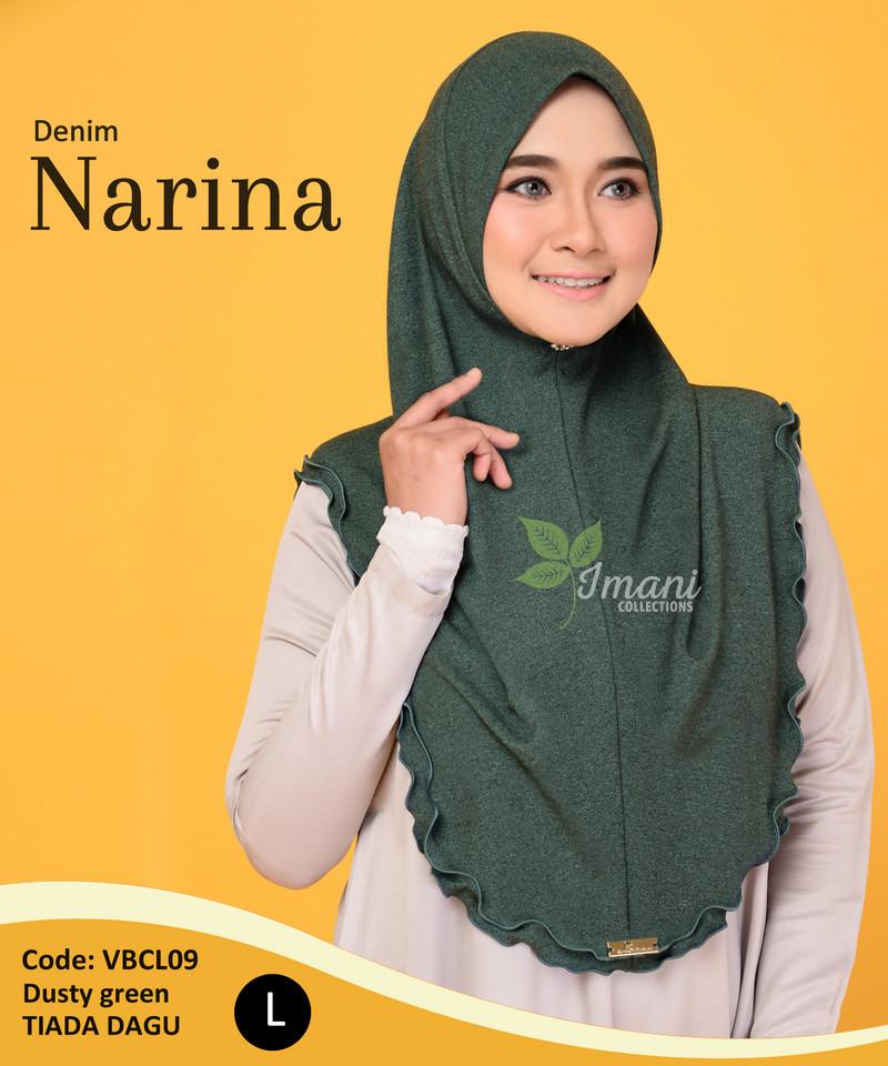 VBCL09 - Tudung Denim Narina L