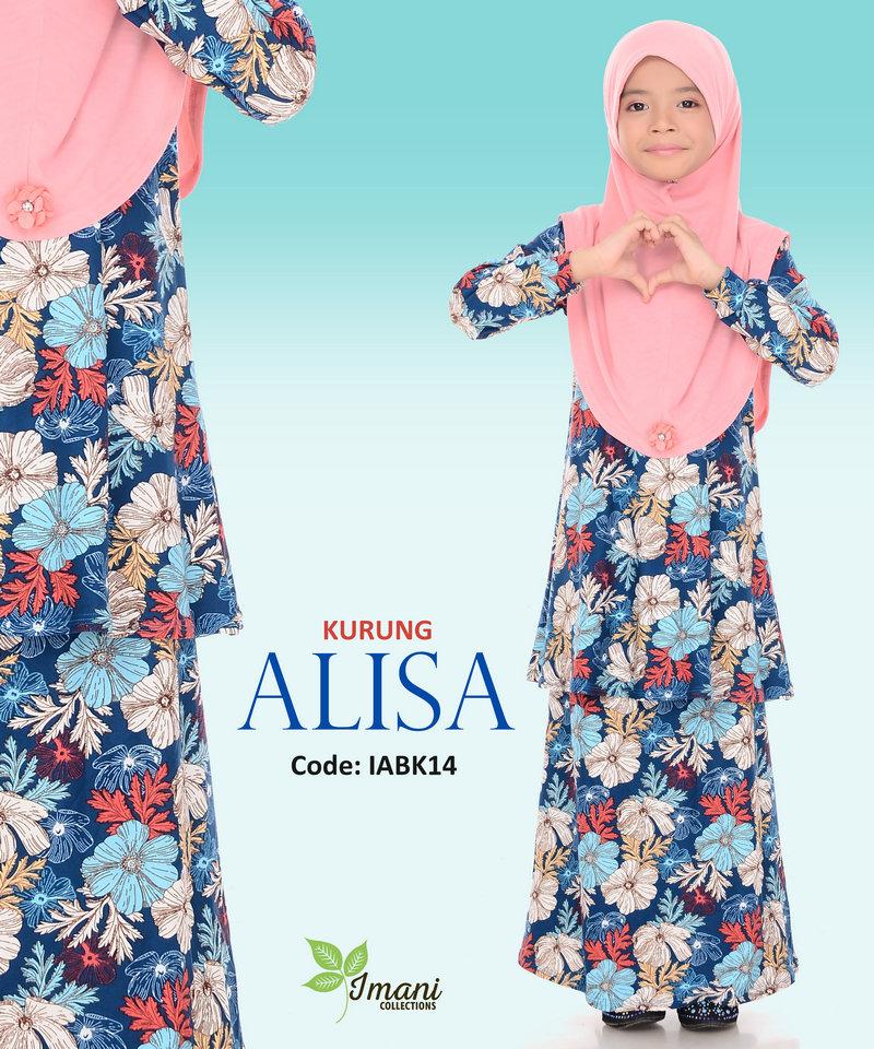 IABK14 - Kurung Alisa Kids