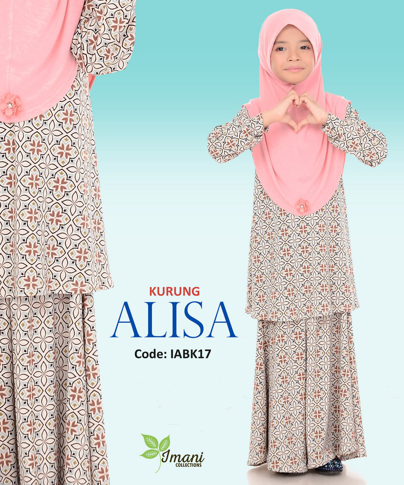 IABK17 - Kurung Alisa Kids