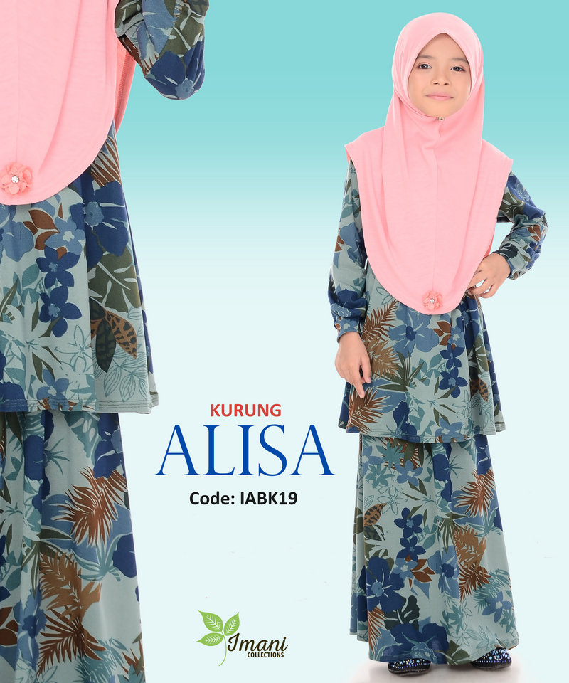 IABK19 - Kurung Alisa Kids