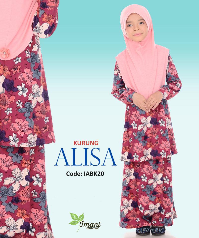 IABK20 - Kurung Alisa Kids
