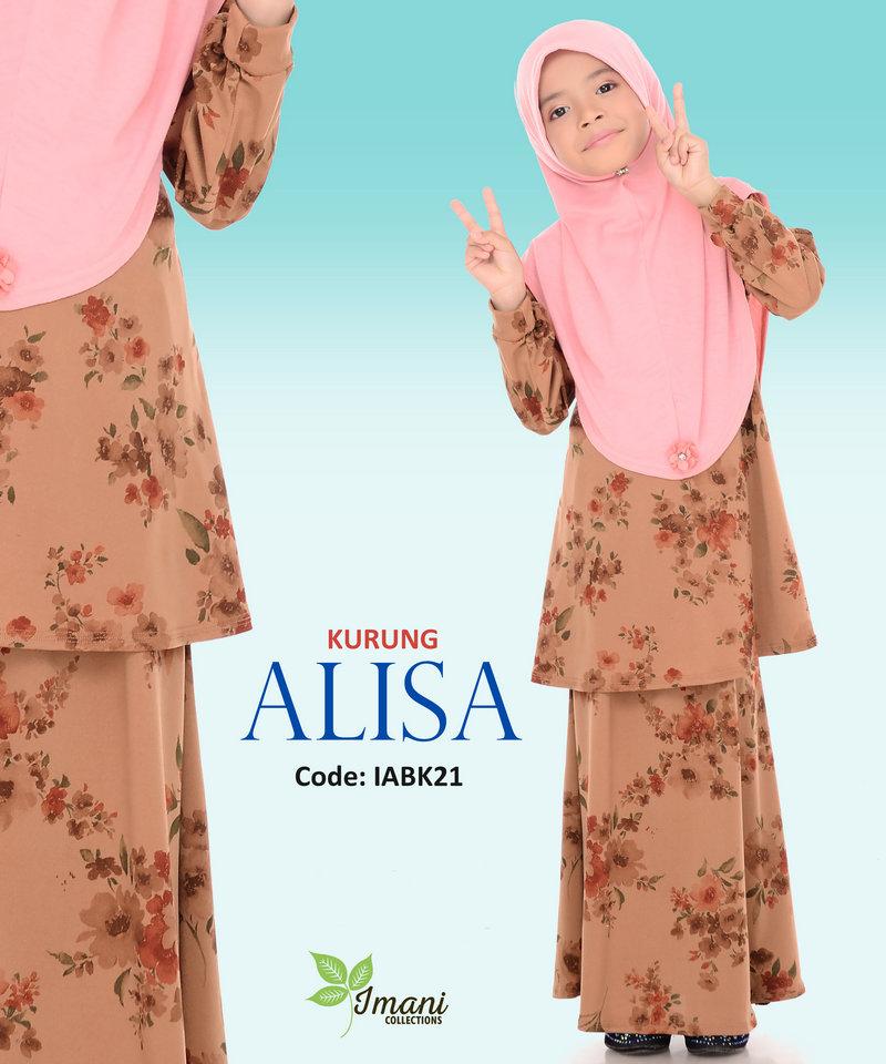 IABK21 - Kurung Alisa Kids