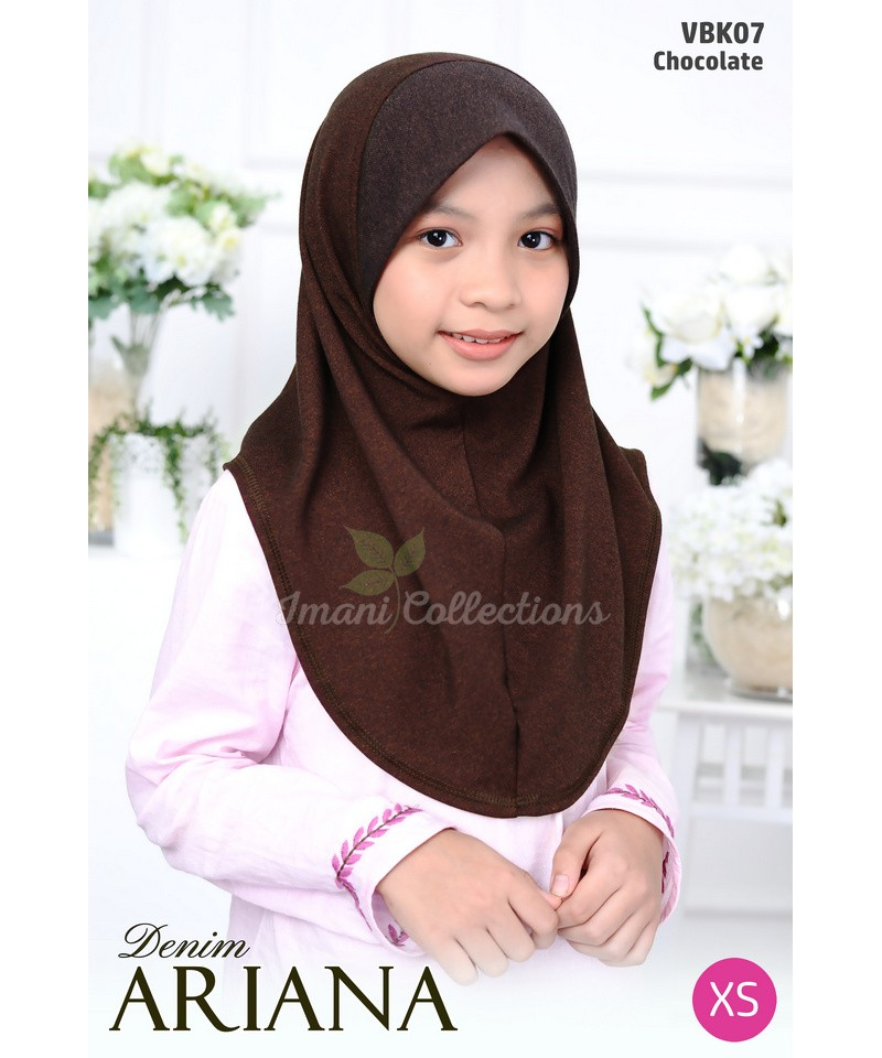 VBK07 - Tudung Denim Ariana (KIDS)