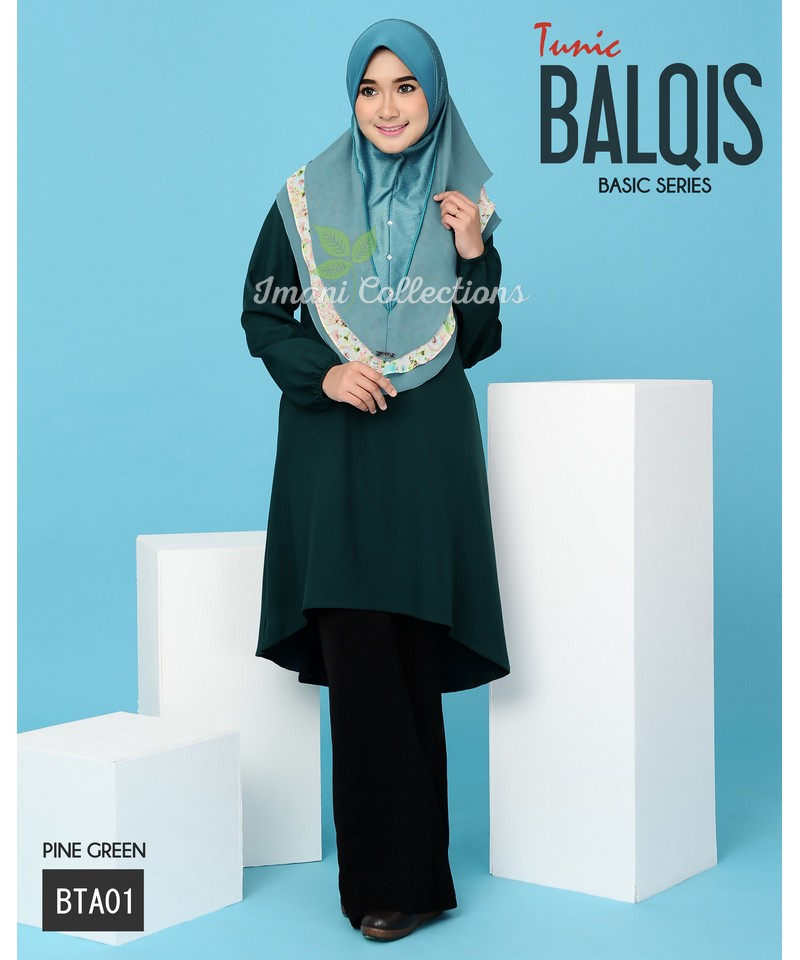 BTA01 - Tunik Balqis (Basic Series)