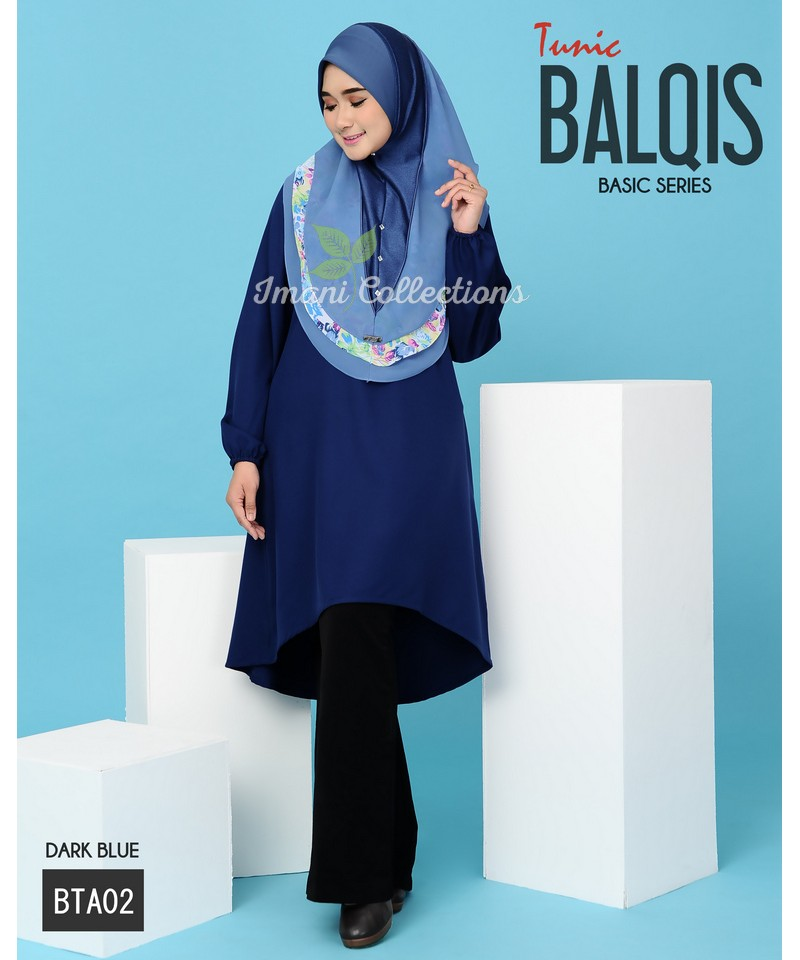 BTA02 - Tunik Balqis (Basic Series)