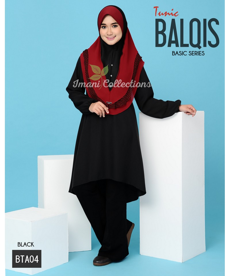 BTA04 - Tunik Balqis (Basic Series)