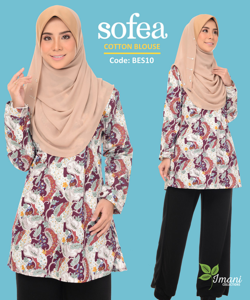BES10 - Sofea Cotton Blouse