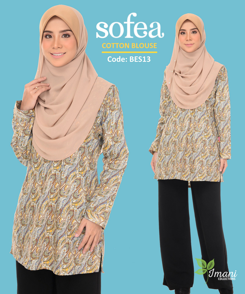 BES13 - Sofea Cotton Blouse