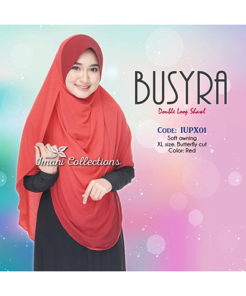 IUPX01 - Shawl Busyra Dwi-Tone XL