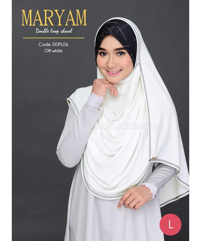 DDPL06R - Shawl Maryam L (REJECT)
