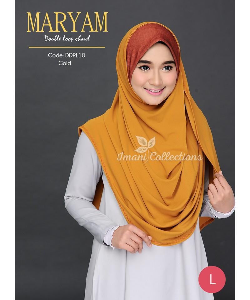 DDPL10R - Shawl Maryam L (REJECT)