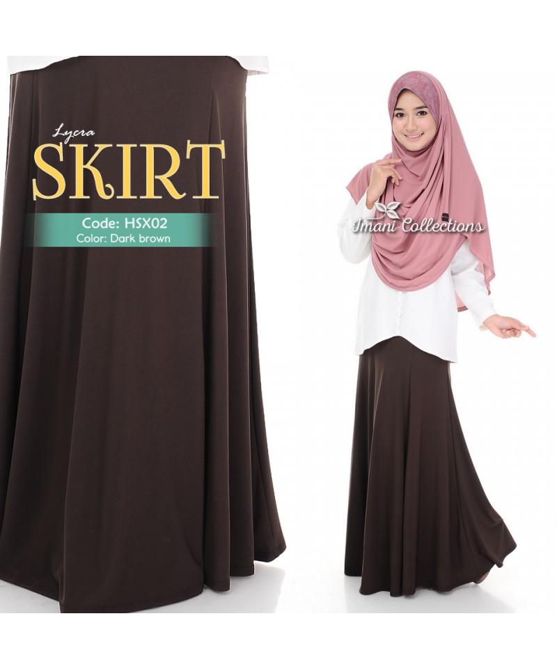 HSX02 - 6 Panel Lycra Skirt
