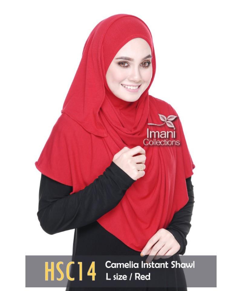 HSC14 - Shawl Instant Camelia