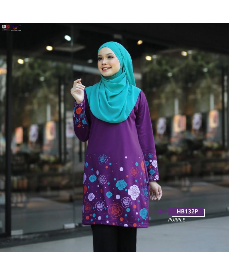 HB132P - Tshirt Muslimah Humaira