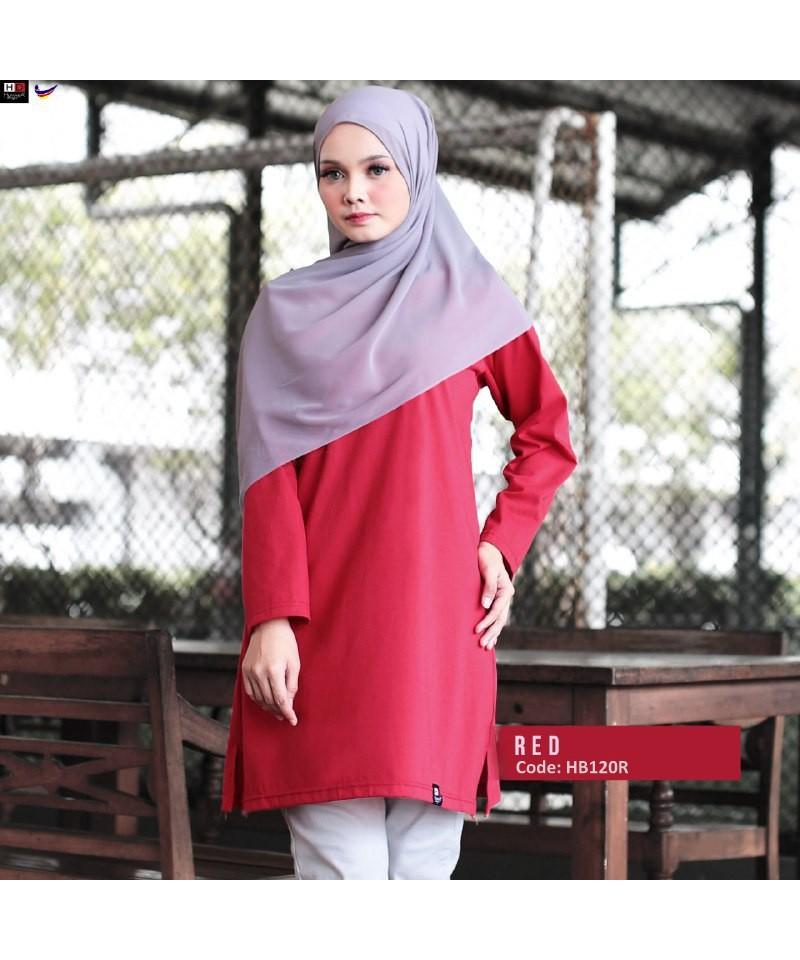 HB120R - Tshirt Muslimah Humaira