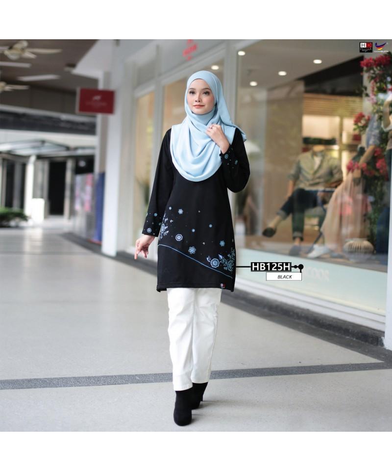 HB125H - Tshirt Muslimah Humaira