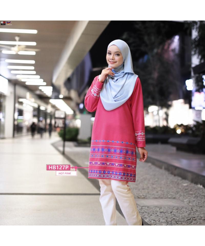 HB127P - Tshirt Muslimah Humaira