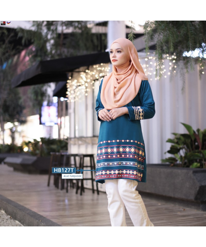 HB127T - Tshirt Muslimah Humaira