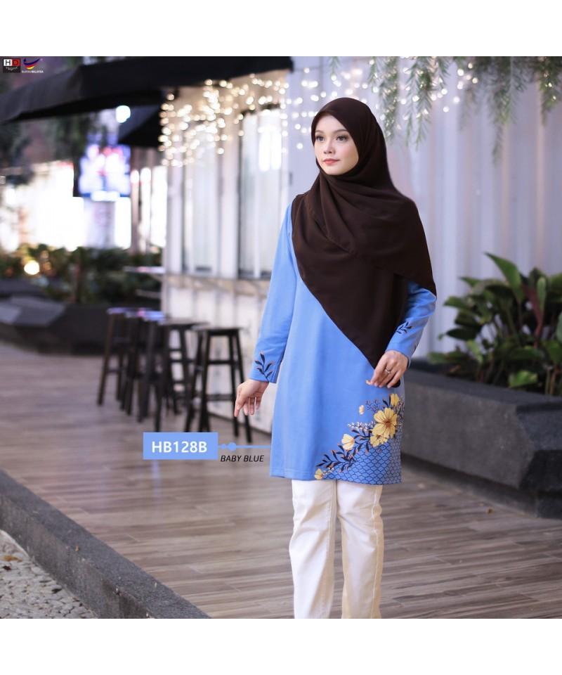 HB128B - Tshirt Muslimah Humaira