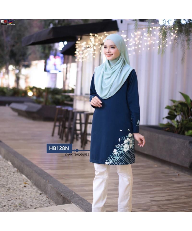 HB128N - Tshirt Muslimah Humaira