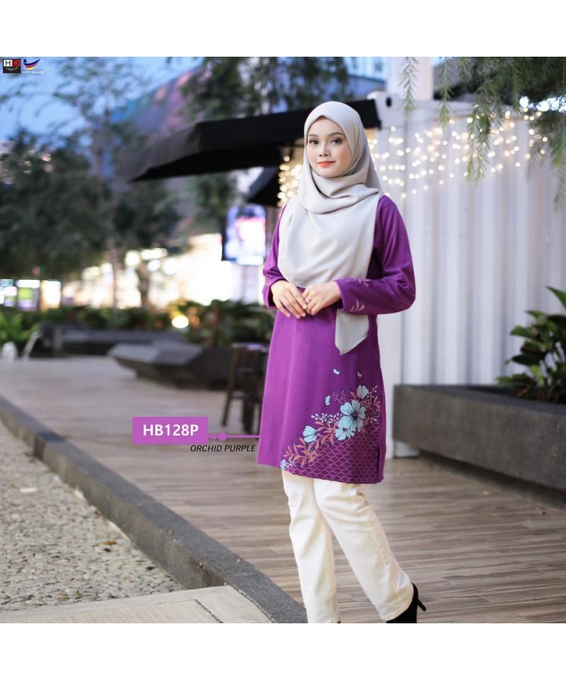 HB128P - Tshirt Muslimah Humaira