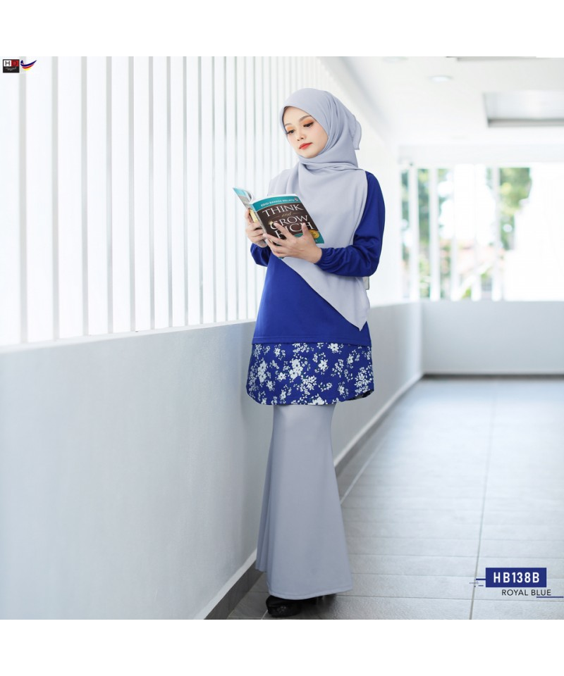 HB138B - Tshirt Muslimah Humaira