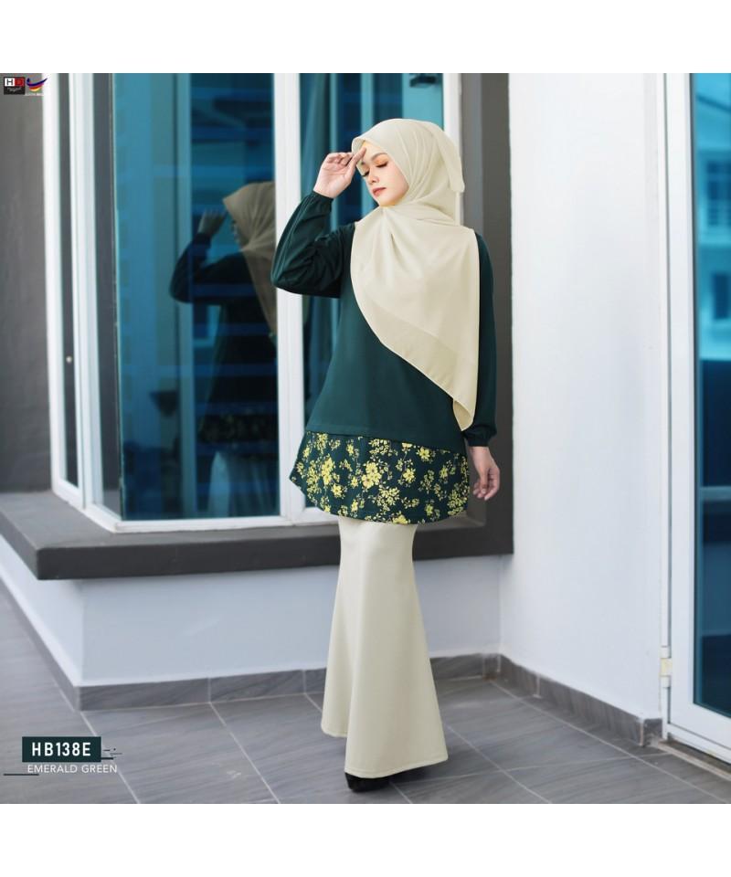 HB138E - Tshirt Muslimah Humaira