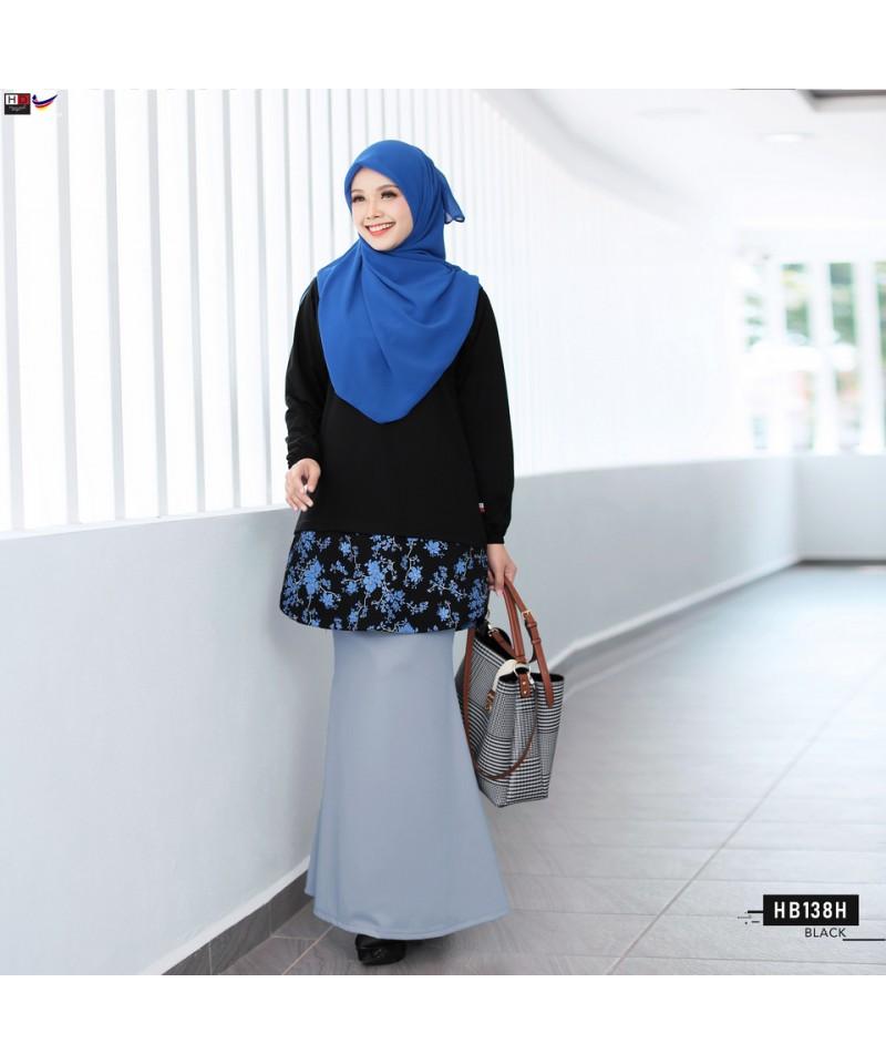 HB138H - Tshirt Muslimah Humaira