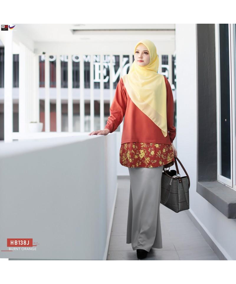 HB138J - Tshirt Muslimah Humaira