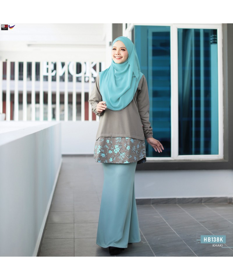 HB138K - Tshirt Muslimah Humaira
