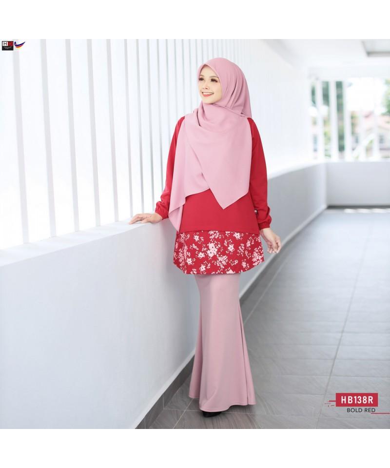 HB138R - Tshirt Muslimah Humaira