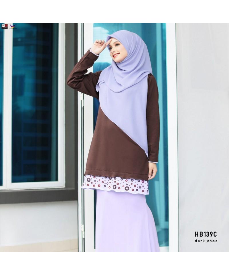HB139C - Tshirt Muslimah Humaira