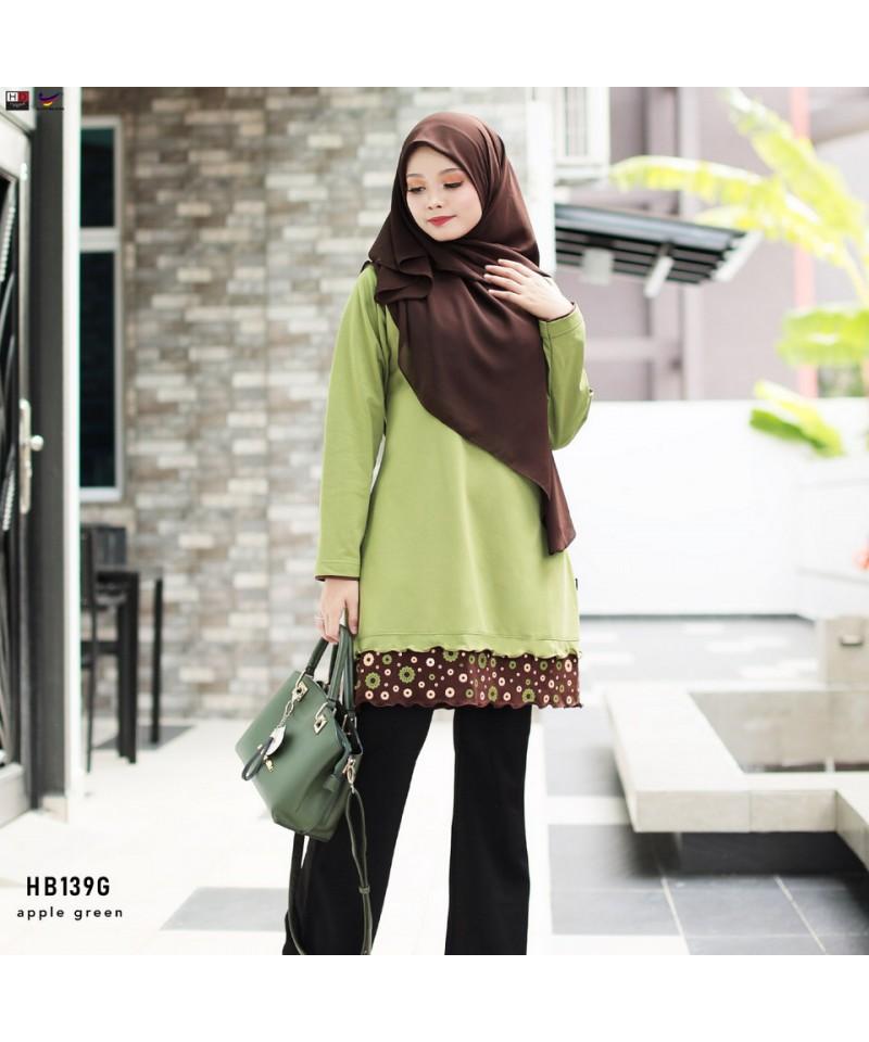 HB139G - Tshirt Muslimah Humaira
