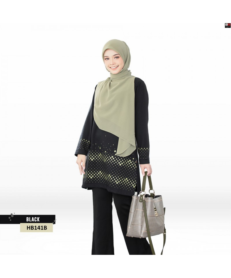 HB141B - Tshirt Muslimah Humaira